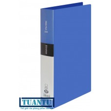 Bìa nhẫn nhựa King Jim A4 30mm 642GSV Blue
