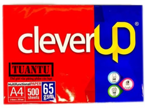 Giấy Clever Up A4 65gsm