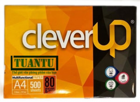 Giấy Clever Up A4 80gsm