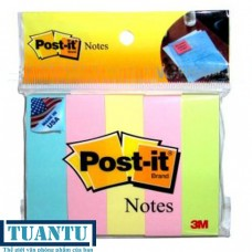 Note Post-it phân trang 5 màu (20mmx76mm)